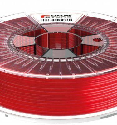 Filament hdglass petg rouge translucide de formfutura pour imprimante 3D