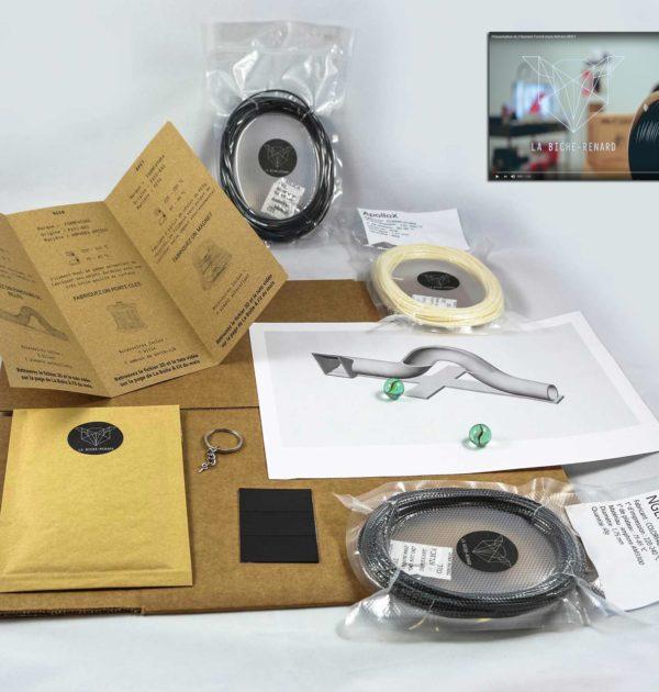 Développez votre créativité avec la Box dédiée à l'impression 3D