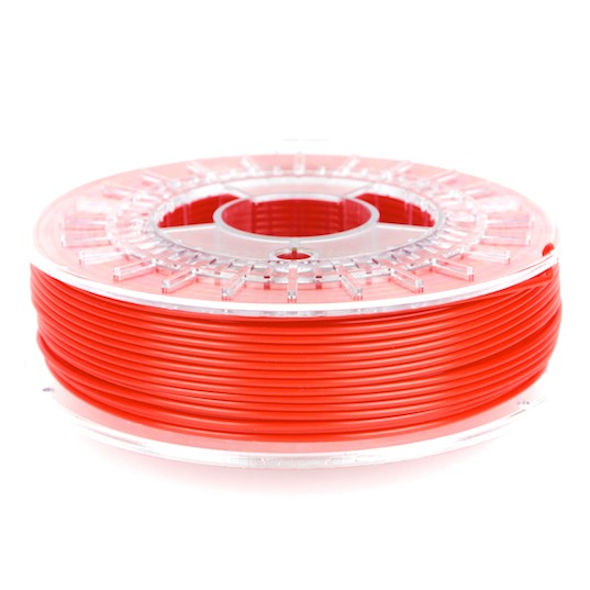 Filament pla/pha rouge de colorfabb pour imprimante 3D