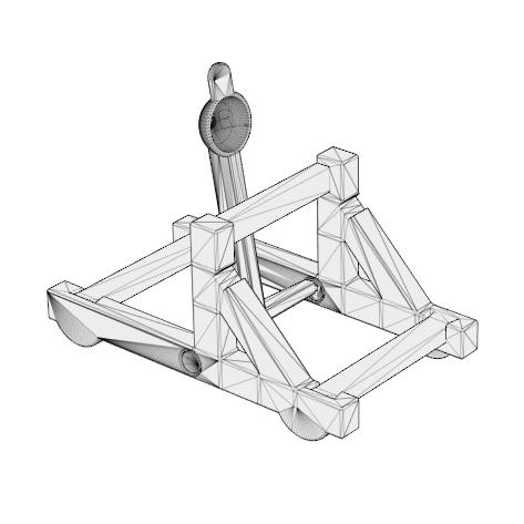 Catapulte à imrpimer en 3D SEEJ Cults