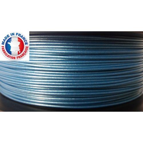 pla métalisé bleu ariane plast la boite a fil