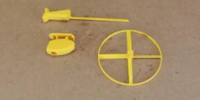BAF d'Avril : l'hélicopter