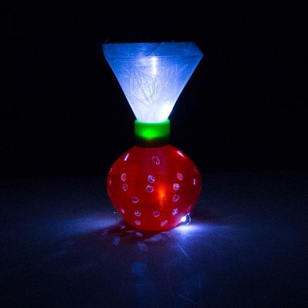décoration lumineuse modulable imprimante 3d