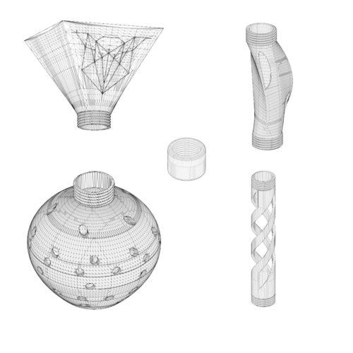 luminaire modulable à imprimer avec votre imprimante 3D dans la boîte À Fil de Décembre