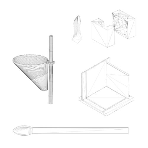 Les accessoires à utiliser pour faire des moulages en silicone avec la boite a fil.