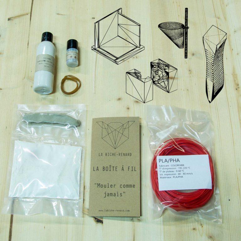 Apprenez le moulage silicone avec votre imprimante 3D.