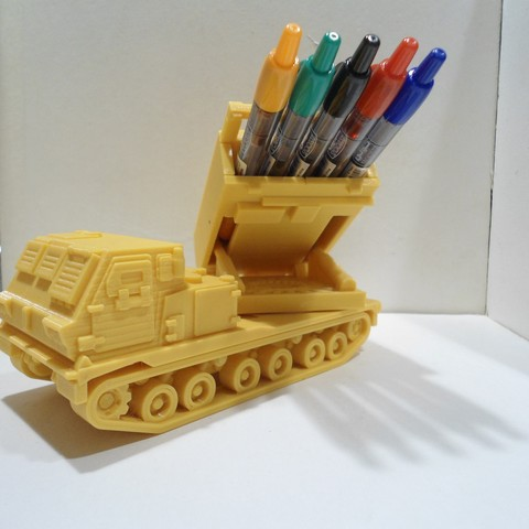 porte crayon lance missiles