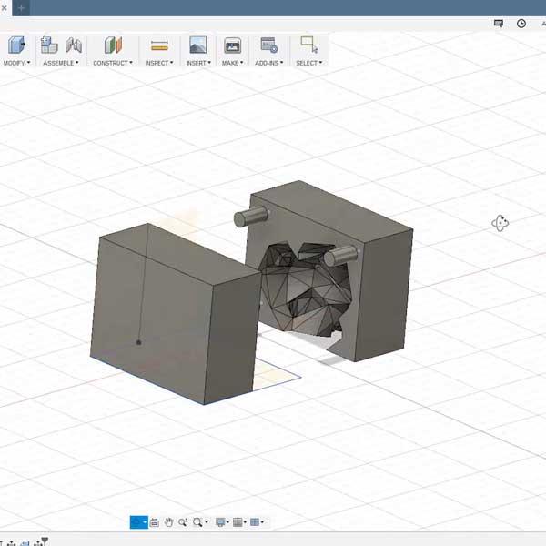 Comment dessiner un moule a partir d'un stl sur fusion 360 impression 3D