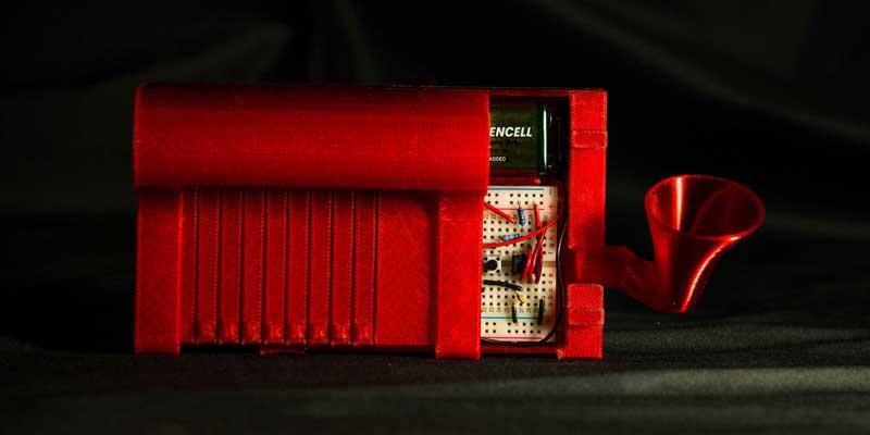 faites votre propre piano électronique avec votre imprimante 3D et la boite a fil