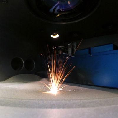 frittage sélectif laser