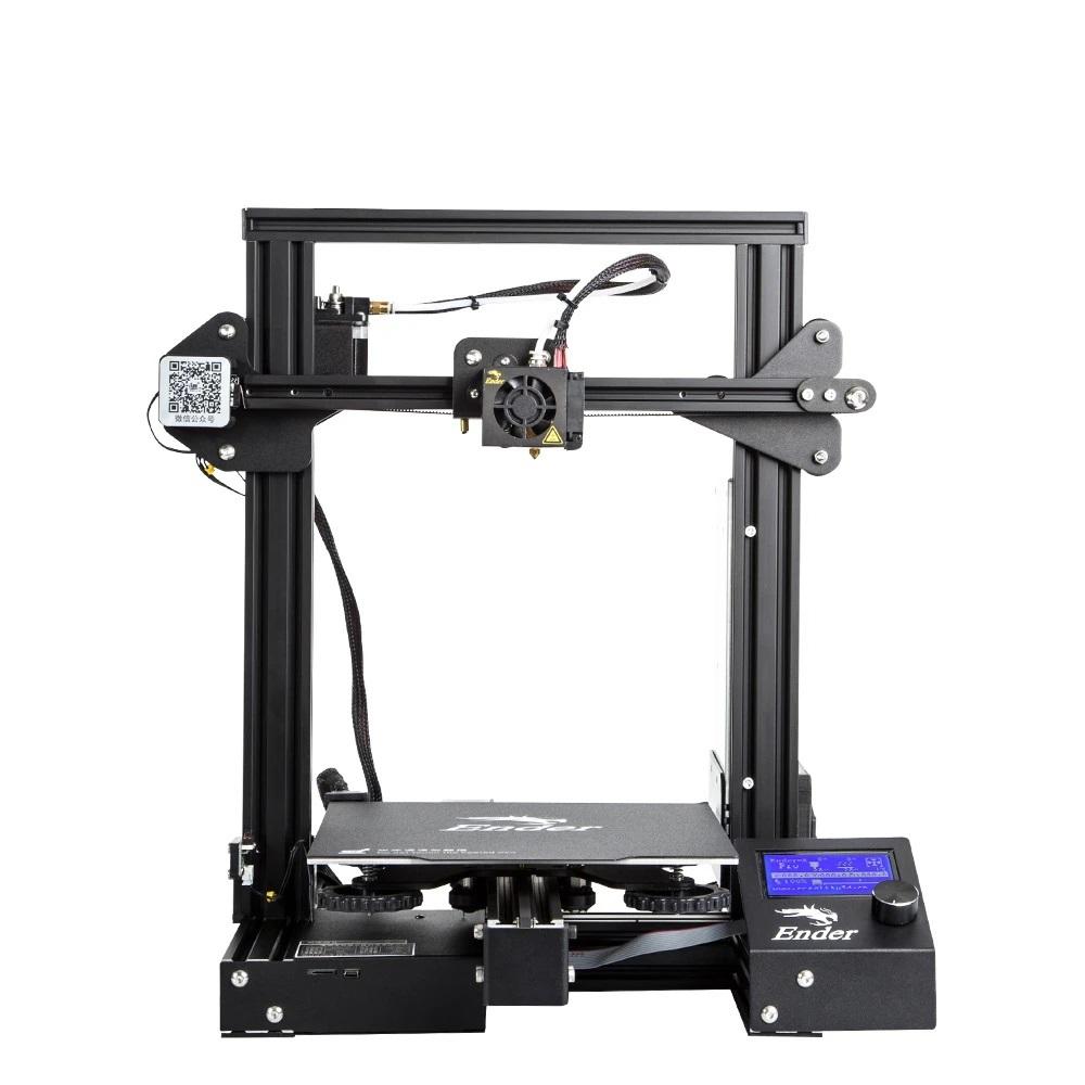 La Ender 3 de creality est l'imprimante 3D conseillée par La Biche-Renard