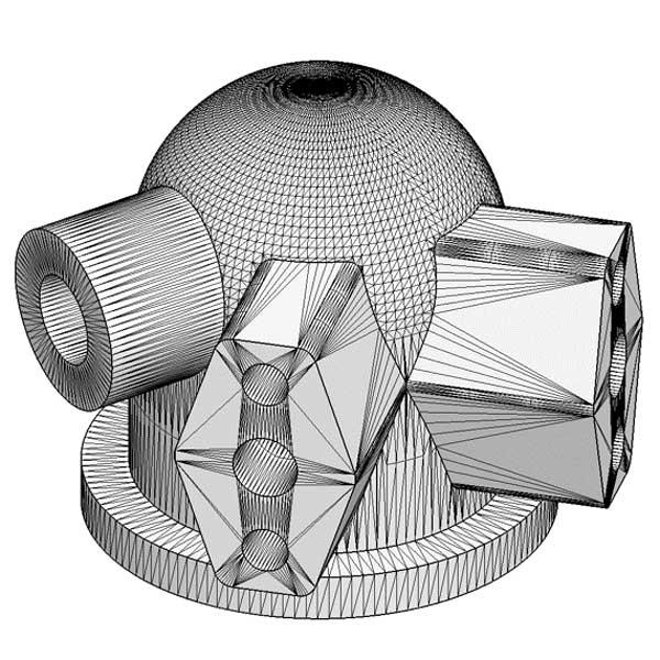 le format STL est utilisé dans l'impression 3D