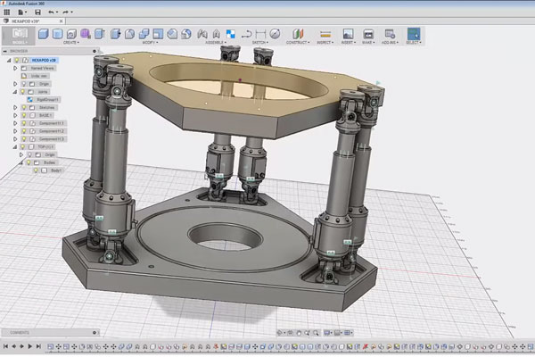 Pour choisir votre formation découvrez ce timelapse d'une video de modélisation avec fusion 360 pour comprendre comment le logiciel fonctionne.